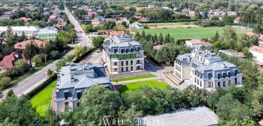 Dlaczego apartamenty Wille Tercja doskonale wpisują się w krajobraz Konstancina?